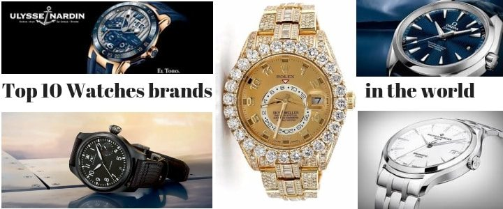 Top 10 Expensive Luxury Watch brands in the world