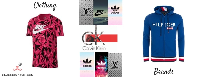 clothing brand names own clothing brand