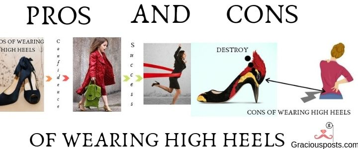 High heels Effects – What are the Pros And Cons of Wearing it?