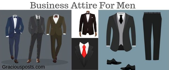 Best conservative Business attire for Men