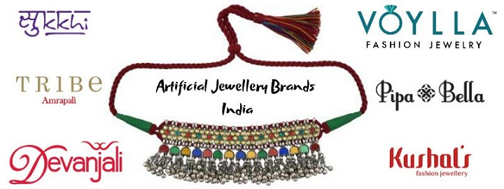 Top Artificial Jewellery Brands in India