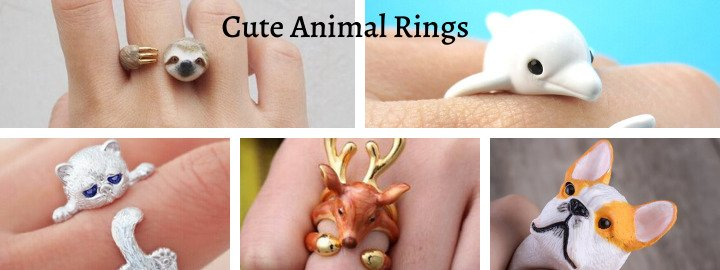 Animal Jewellery – Cute Animals Rings for Fashionistas