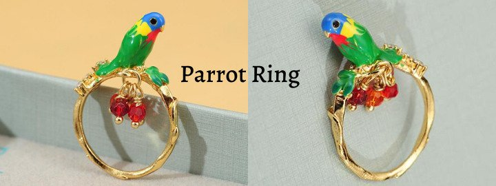 parrot-ring