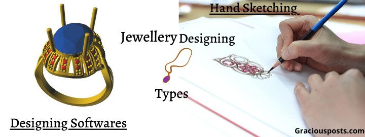 Jewellery Designing Types-Sketching v/s Designing softwares