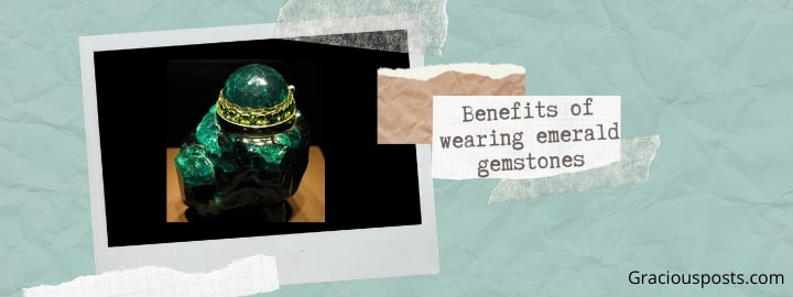 Benefits of wearing emerald for weak mercury