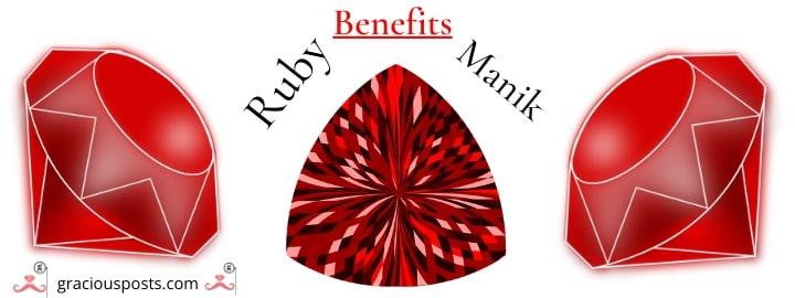 Ruby stone benefits by parasara muni